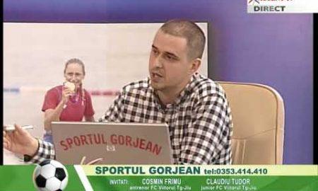 Sportul Gorjean 16 ianuarie 2017 Cosmin Frimu