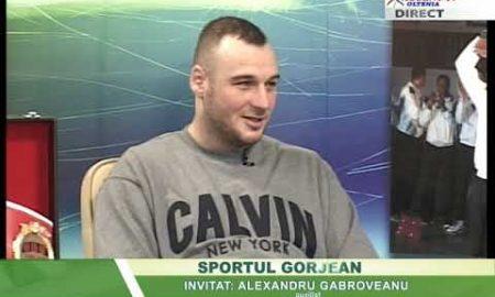 Sportul Gorjean 15 ianuarie 2019 Alexandru Gbaroveanu